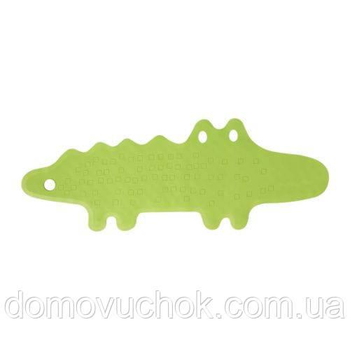 Килимок для ванної зелений крокодил PATRULL 33*9