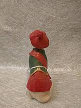Статуэтка собака (собачка) бультерьер в шляпе, фото 3