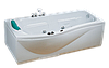 Ванна акриловая CRW с гидромассажем CCW17002L