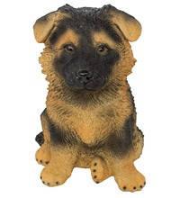 Статуэтка (копилка) собака щенок немецкой овчарки цветной, фото 2