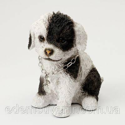 Статуэтка (копилка) собака щеночек цветной