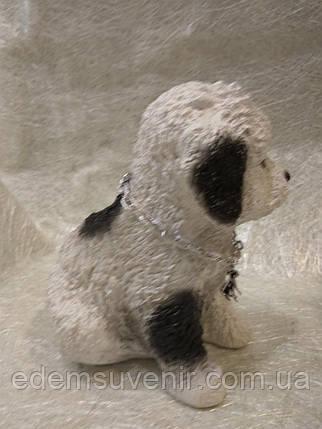 Статуэтка (копилка) собака щеночек цветной, фото 2