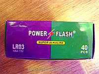 Батарейки POWER FLASH AAA 1,5V LR03, фото 1