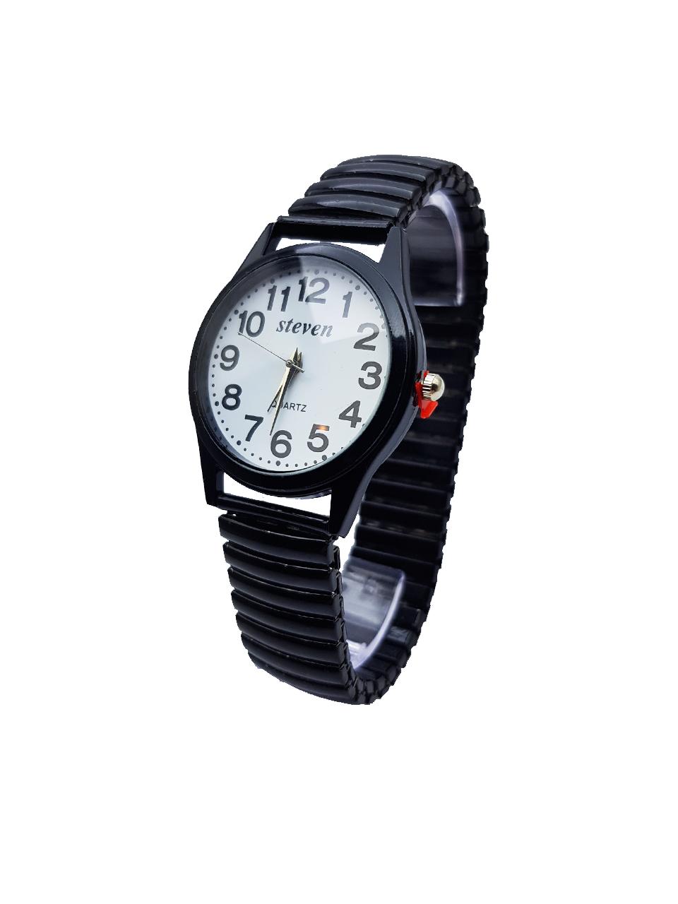 c59695e2bc77 Часы наручные женские STEVEN, кварц, черный цвет