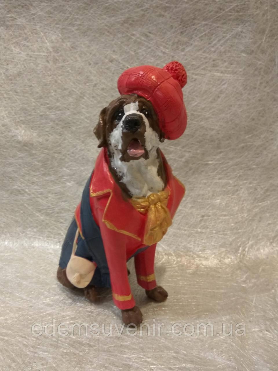 Статуэтка собака сенбернар