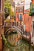 """Фотообои на заказ """"Венеция. Мостик через канал"""""""