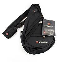 Сумка на одно плечо Swissgear черная small - 132093
