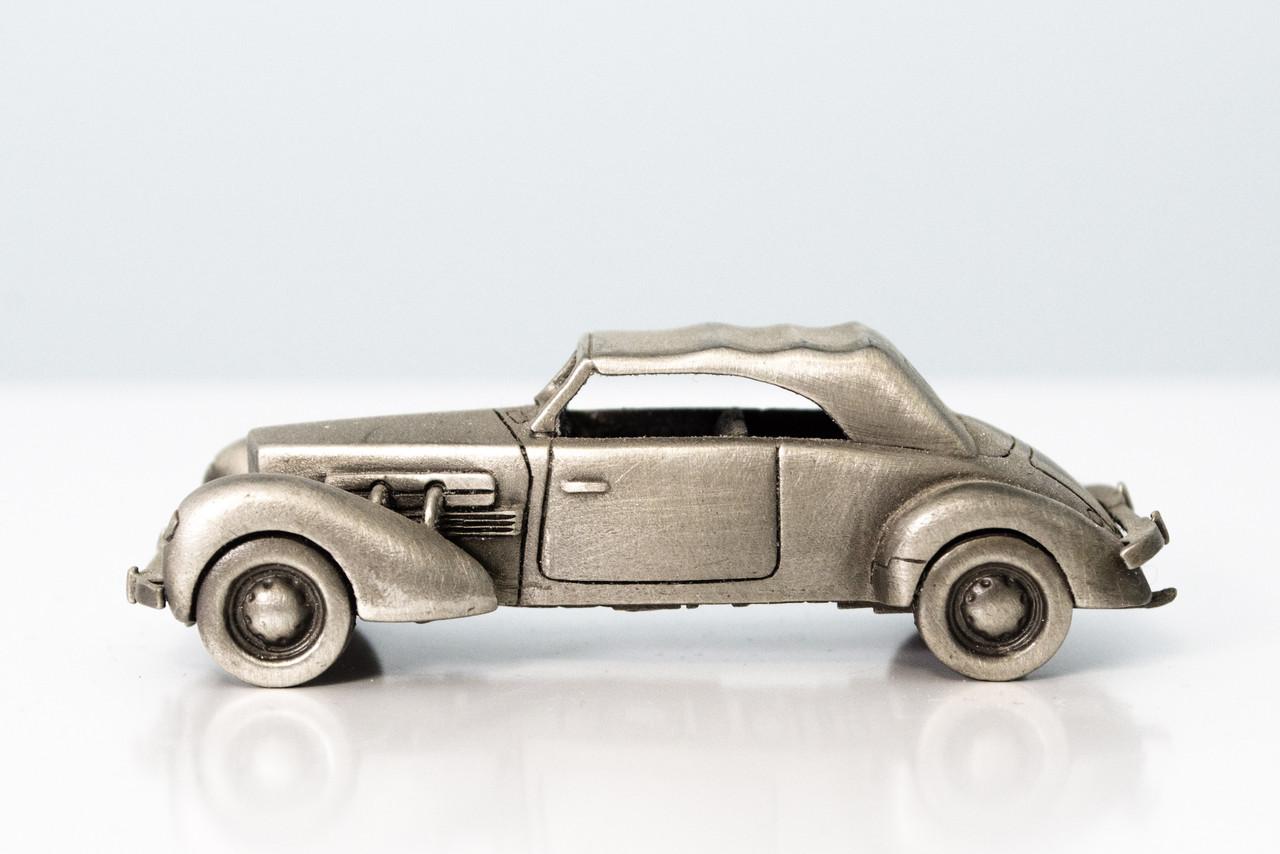 Модель автомобиля, Cord 812, миниатюра, олово, Franklin Mint, Малайзия