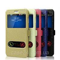 Кожаный чехол книжка Anakonda для Samsung Galaxy M20 (5 цветов)
