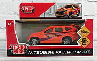 Машина металлическая 1:32 Автомодель - Mitsubishi Pajero Sport Outlander-S-Sport Технопарк