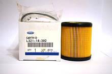 Оригинальный масляный фильтр MAZDA  L321-14-302 (катридж)