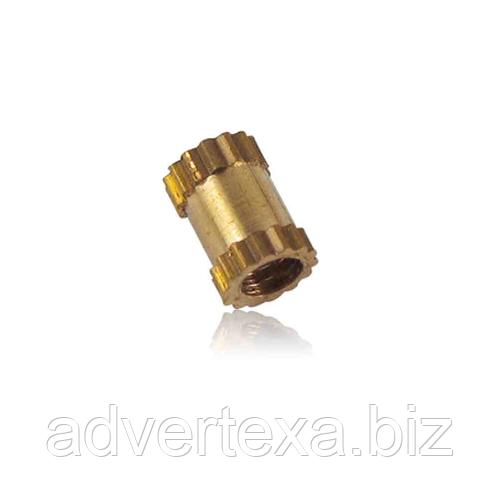 Стойка M2x5mm латунная для монтажа печатных плат pcb