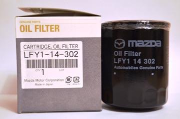 Фильтр масляный MAZDA  LFY1-14-302