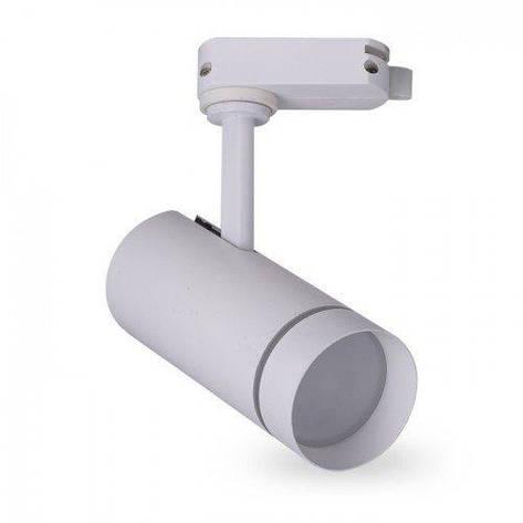 Трековый светодиодный светильник Feron AL106 18W белый, фото 2