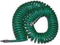 Шланг спиральный для пневмоинструмента с переходниками 8*12, 15 м Vitol V-81215P