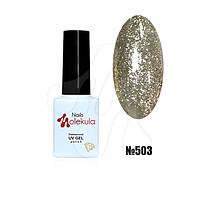 Гель-лак diamant gel №503 (бризки шампанського) 6мл