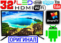 "Германия! 4K LED телевизор 32"" UHDTV,SmartTV, IPTV, Android, T2, WIFI, USB, Series 20 ОРИГИНАЛ блютуз"