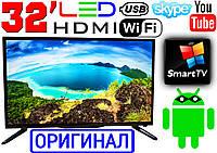 """Германия! LED телевизор 32"""" FullHD,SmartTV, IPTV, Android, T2, WIFI, USB, Series 6 ОРИГИНАЛ"""