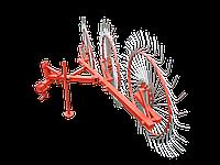 """Грабли-ворошилки тракторные ZV """"Солнышко"""" (3 колеса, польская оцинкованная граблина)"""