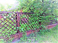 Изготовление заборов деревянных, фото 1