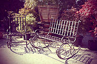 Кованая мебель в сад №10