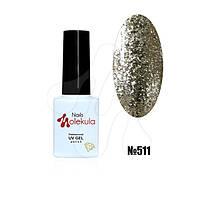 Гель-лак diamant gel №511 (платиновий) 6мл