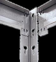 310х160х70, Стеллаж 5 полок ДСП/МДФ 300 кг на полку полочный оцинкованный металлический на склад, фото 2