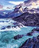 Художественный творческий набор, картина по номерам Прибрежные скалы, 40x50 см, «Art Story» (AS0375), фото 1