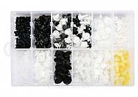 Шпинки для автосалоної обшивки PEUGEOT YATO, різні, 12 типорозмірів, 345 шт., фото 1