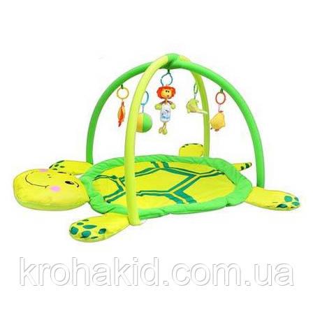 Коврик для младенца 898-12 B/0228-1 R в виде забавной черепахи, фото 2