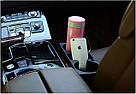 Двойной подстаканник в машину, держатель для напитков (черный), фото 6