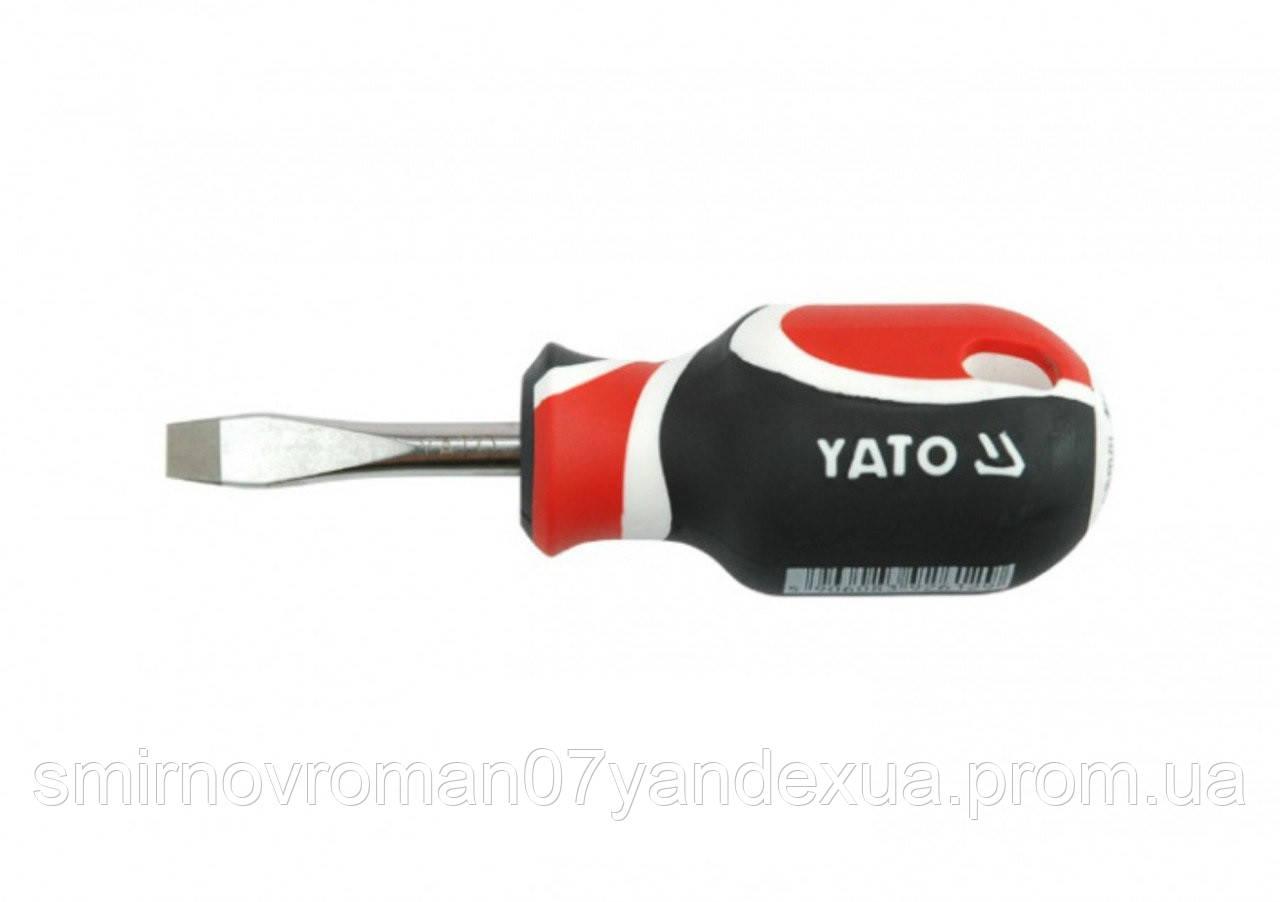 Отвертка плоская YАТО SL6 х 38 мм