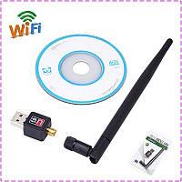 WiFi адаптер с антенной CL-UW04, 150Mbps, USB 2.0
