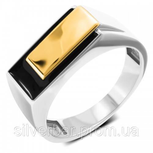 Мужская серебряная печатка перстень Маршал KM-141/2-rauh-topaz с  раухтопазом, фианитами — купить в AllTime.ru — фото | 500x500