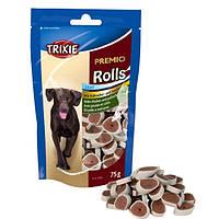 """Trixie - 31535 Лакомство для собак ролы """"Premio""""(курица+сайда). Упаковка - 75гр"""