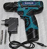 Аккумуляторный шуруповерт ROBUR RB18, фото 6