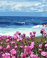 Художественный творческий набор, картина по номерам Цветы у моря, 40x50 см, «Art Story» (AS0380), фото 1