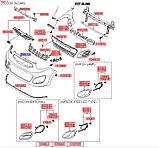 Бампер передний накладка, KIA Picanto 2011- TA, 865111y000, фото 5