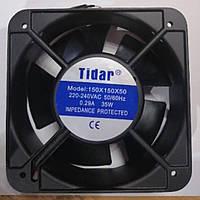 Вентилятор для инкубатора 220В 150*150 35Вт