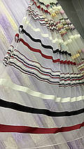 Фатиновая тюль цветные полосы, фото 3