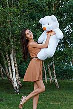 М'яка іграшка ведмедик Рафік 100 см, білий