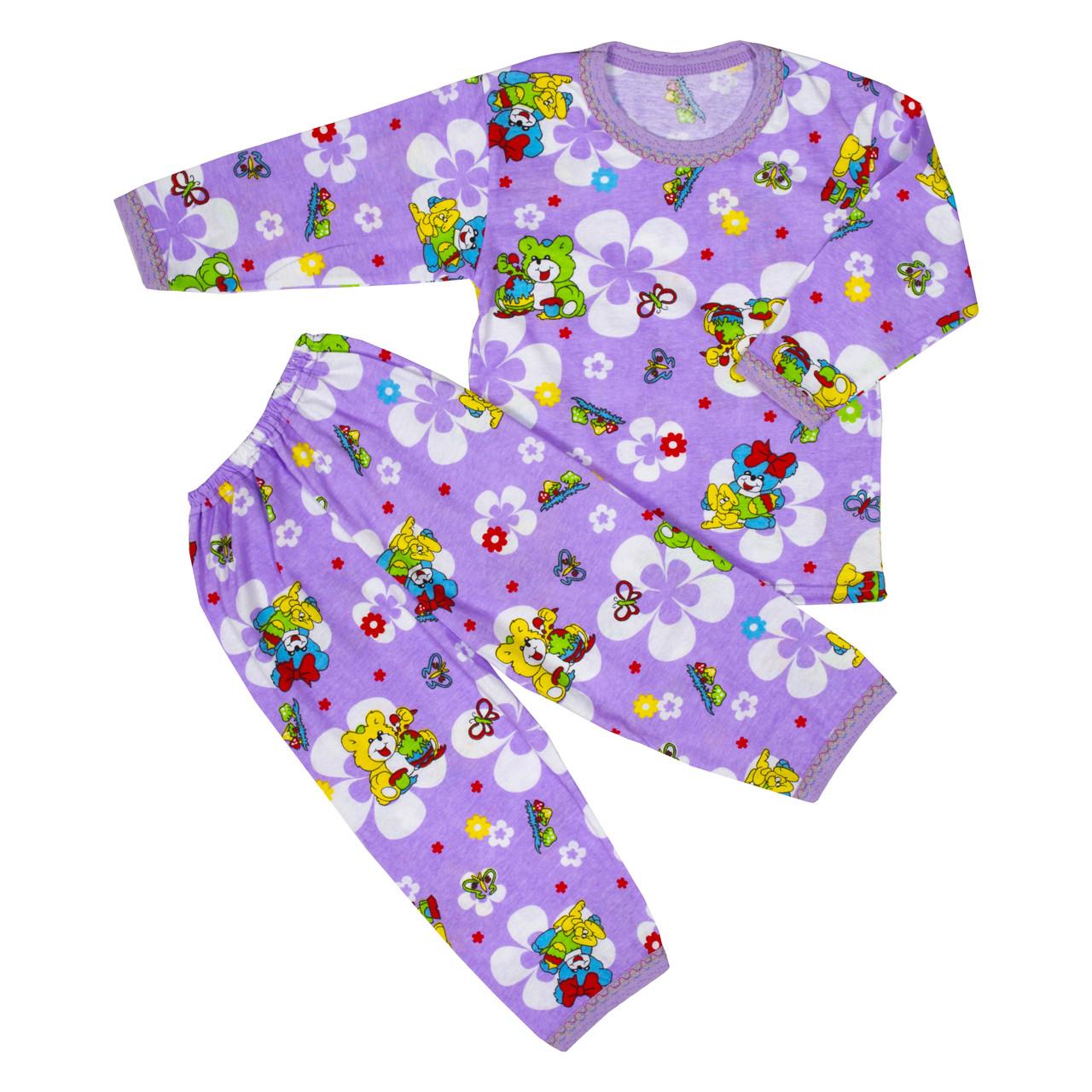 Пижама для девочек сиреневая