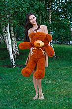 М'яка іграшка ведмедик Рафік 100 см, коричневий