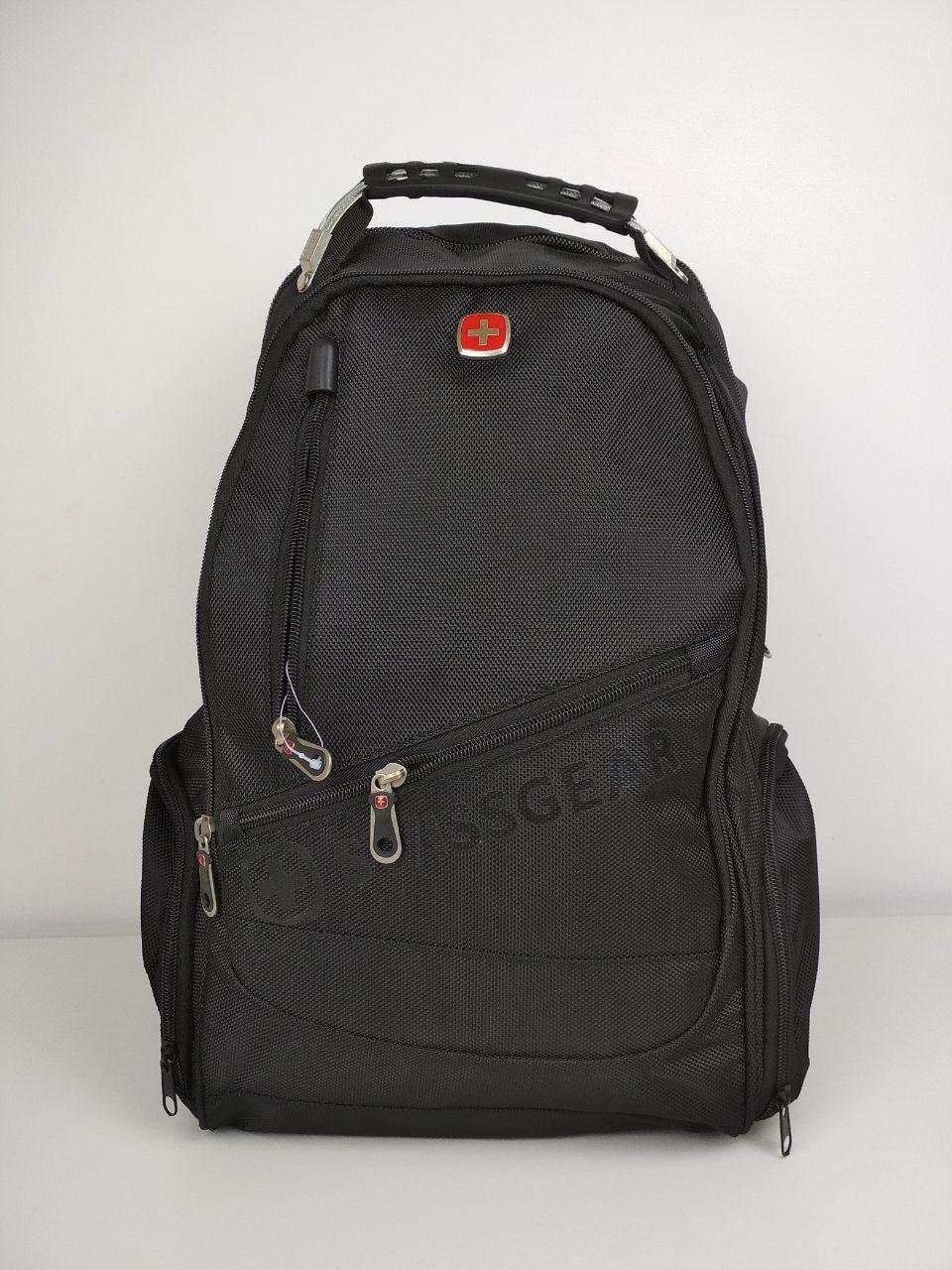 Текстильный рюкзак для подростка с USB зарядкой 44*33*27 см