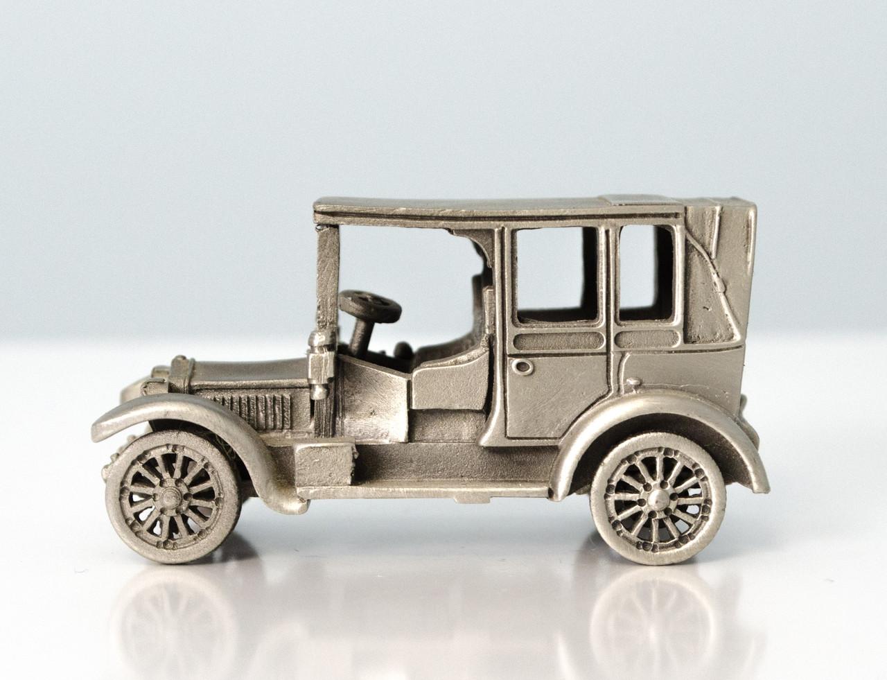 Модель автомобиля Minerva 1935, миниатюра, олово, Franklin Mint, Малайзия