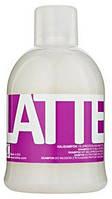 Шампунь с протеином для сухих волос после химии Kallos Latte 1 л