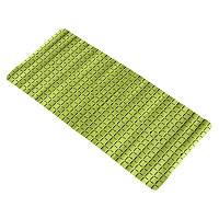 Коврик в ванную комнату Bathlux Green Leaves 40205 антискользящий резиновый 35х78 см SKL11-132552