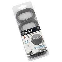 Кольца для шторки Bathlux 12 шт. Hojas 30015 SKL11-132510