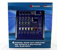 Аудио микшер Mixer BT 4200D 4ch. (4), фото 1
