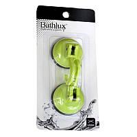 Крючок для полотенца Bathlux на вакуумной присоске 2шт. Green Leaves 90218 SKL11-132684, фото 1